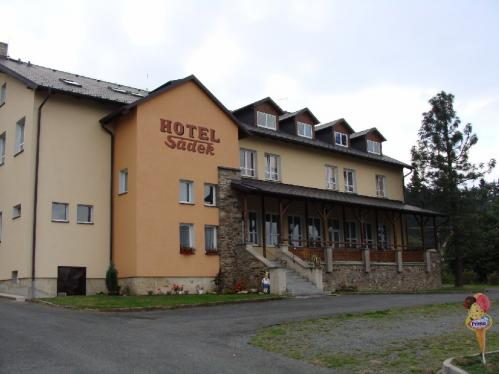 Foto - Accommodation in Díly - Mountain hotel Sádek