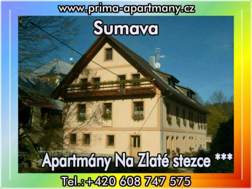 Foto - Accommodation in Stožec - Apartmány Na Zlaté stezce *** (Stožec - České Žleby)