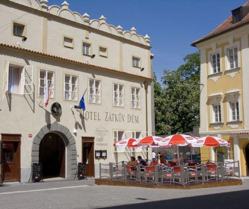 Foto - Accommodation in České Budějovice - Hotel Zátkův dům